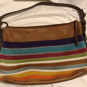 90c6d5a58d Women Fossil Leather Multi Colored Handbag on Poshmark